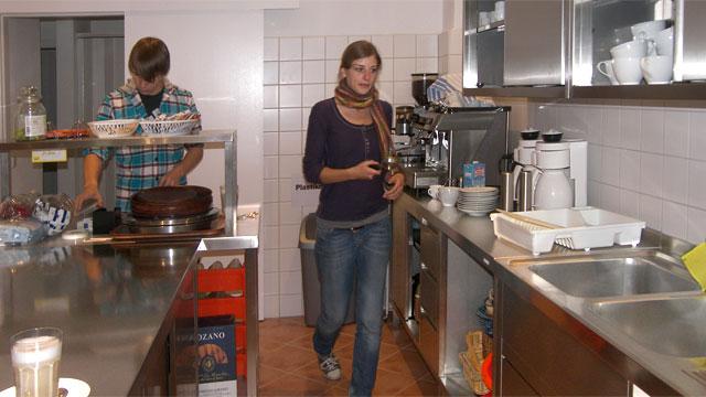 Die Profiküche im cafeimpuls